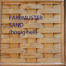 Rattanfarbe Sand