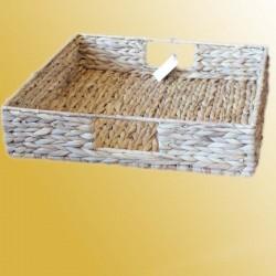 Paletten-Box Wasserhyazinthe Regalborb