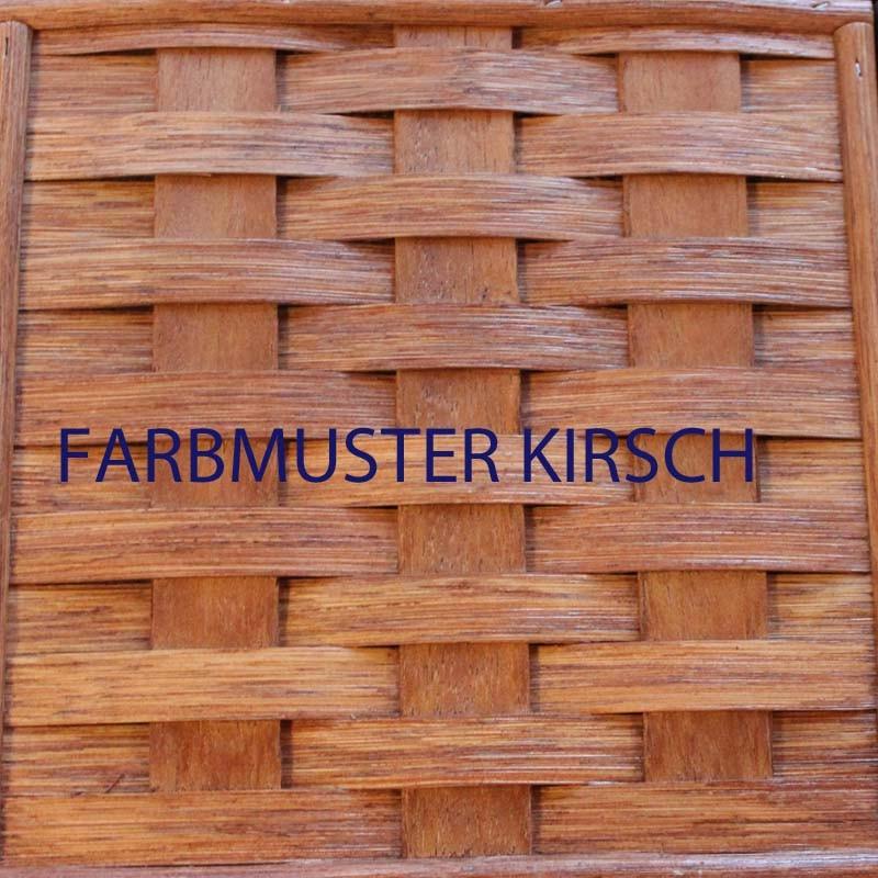 Rattanfarbe Kirsch