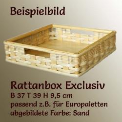 exclusive Rattanbox für Paletten