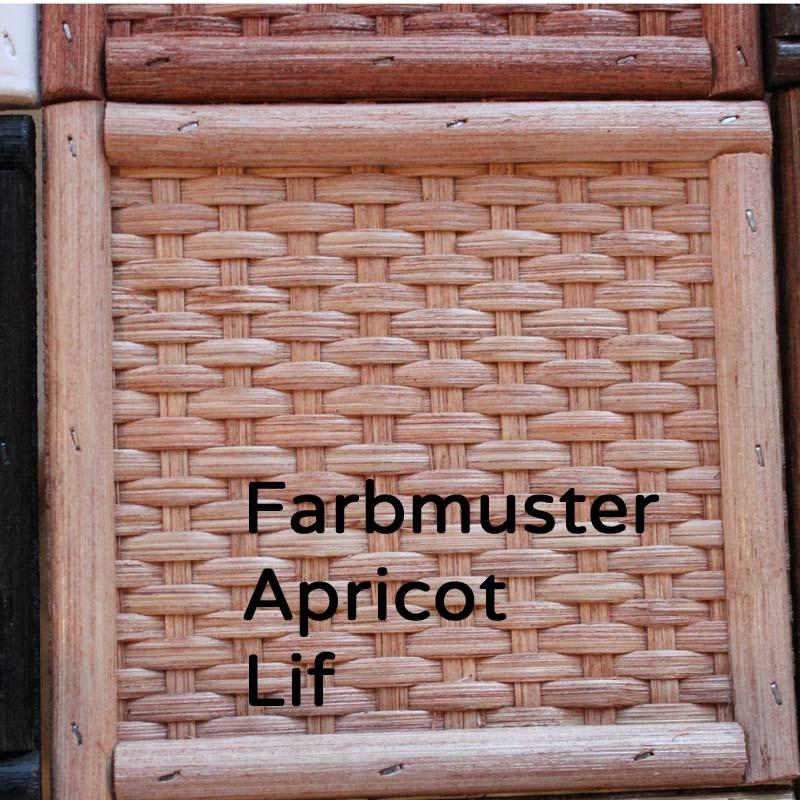Rattangeflecht Apricot